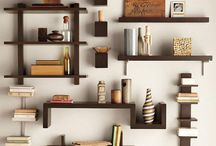 Idea wall shelf in 20 pictures to contemplate
