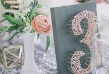 Creative Table Numbers / Table numbers