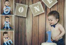 babyboy 1st bday photoshoots