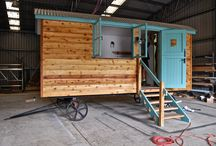 The Build (See How Shepherd Huts Are Made)