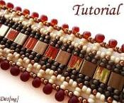 Shaped beads, twins, tilas - ideas and patterns