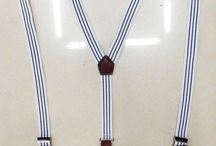 BRET017 / Look inspiration for our English Fashion Classic White Striped Suspenders:  http://www.mightygoodman.nl/nl/english-fashion-bretels-classic-wit-gestreept-met.html