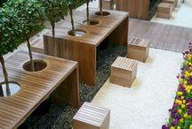 meja taman