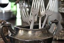 Argenterie et vaisselles anciennes