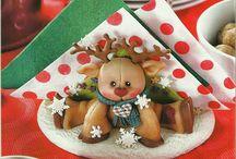 Navidad Porcelana