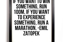 Running / This is my favourite quote