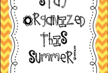 School- Stay Organized / by Angie Weaver