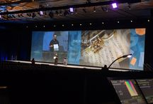 NACHA Annual Convention 2015 / EVENTEQ worked with Event Producer O'Keefe Communications to deliver audio, lighting, video  and set design including a 20'x80' video backdrop