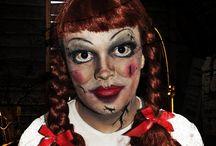 Halloween-meikki