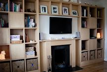 Alcove units / made to measure units, creating storage in alcoves