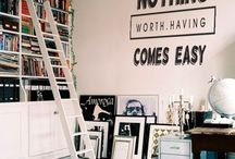 inspiring library quotes & wall art