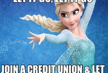 Fiscal Funnies / Credit Union Memes