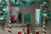 Teal and Red Christmas