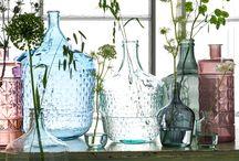 Glassware / Mica Decorations - Glassware