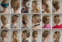 hair, face, nails