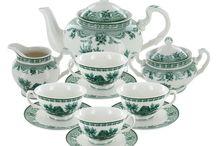Tea Service / China, Porcelain Tea Set