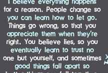 Quotes / by Hannah Swager