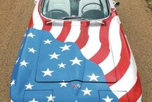 Themed Corvettes / Everyone shows their love of the Corvette differently. From holidays to special causes, we're celebrating the Corvette lovers who put their message on their Corvette! #corvette