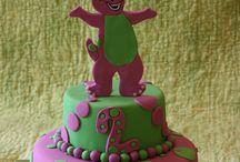 Barney Party Stuff