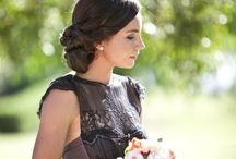 Sister's wedding ideas / Sunflowers black green and brown color scheme  ranch wedding