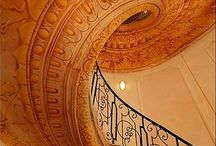 Up and Down The Stairs / MY FASCINATION WITH STAIRS  / by Valentina Interiors & Designs