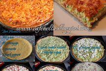 Kabaklı Peynirli Tart Tarifi / Fırında Kabaklı Peynirli Tuzlu Tart Tarifi