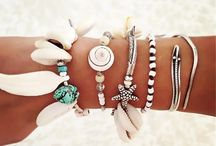 arm charm and rings
