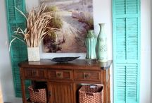 Beach & country decor