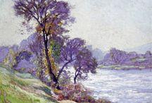 Peintures, dessins, paysages....