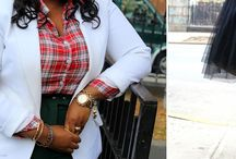 Ambitious & Curvy Style / Beautiful looks for ambitious plus size women