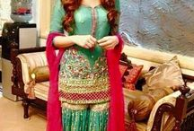 Mehndi dresses