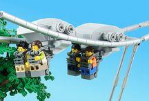 Lego Roller Coaster Ideas