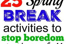 spring break activities