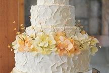 Peach and Yellow wedding