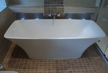 mosaic features / bathroom feature walls