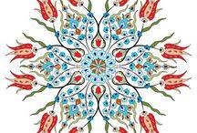Osmanlı desenleri dekupaj