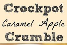 Crock pot slow cooking