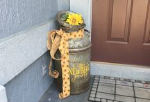 Front porch decorating