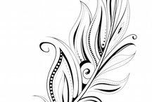 Kuş tüyü dövmeleri