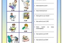 *tagesablauf-german lessons*
