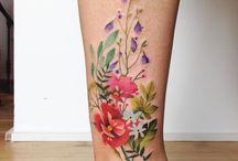 Värikkäät tatuoinnit