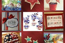 Fourth of July Patriotic stuff / by Lavada Bishop