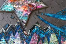 Mixed media mosaic and assemblage / Inspirational pieces by some very talented mosaic artists