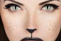 Trucco per feste mascherate