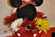 Birthday parties / First birthday-mickey mouse, second birthday- rainbow, third birthday-butterflies, fourth birthday- mermaids, fifth birthday- teddy bear picnic, sixth birthday- shopkins