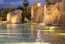La cascata delle Ninfee