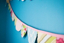 Bunting banner idea / by Amber Cornell