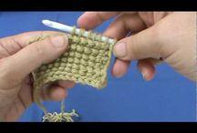 Tunisian crochet knowhow