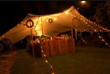 Stretch Tents / Stretch tents set ups for beautiful and successful events.