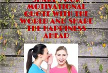 SHARE AHEAD / SHARE YOUR MOTIVATIONAL QUOTE WITH THE WORLD AND SHARE THE HAPPINESS AHEAD!!  If you want to be added to the Group send me an email with your Pinterest URL and I'll add you as a collaborator. vedrana.vlahovic@velo-global-solutions.de then you can invite all your friends.